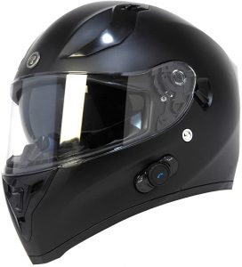 TORC Unisex-adult full-face-helmet-style T15B Bluetooth Integrated Motorcycle